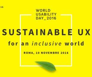 WORLD USABILITY DAY ROME 2016