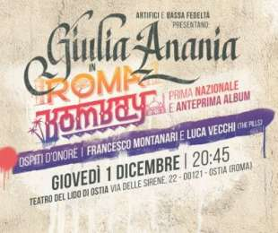 Giulia Ananìa in RomaBombay