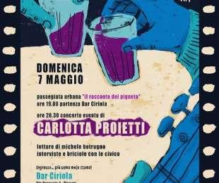 Passeggiata di Primavera + Concerto Carlotta Proietti dar Ciriola