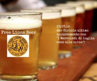 Free Lions Brewery | Mercoledì 27 Luglio